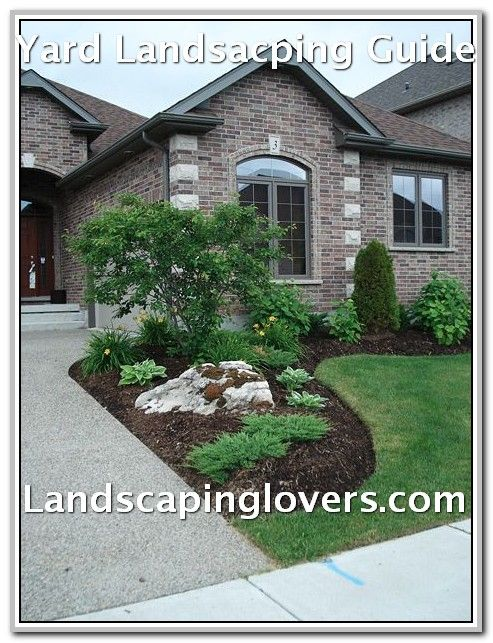 Easy Tweaks To Improve Your Landscaping Landscaping Lovers Front Yard Garden Front Yard Landscaping Design Front Yard Landscaping