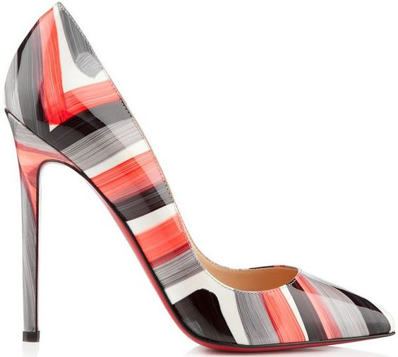 Christian Louboutin Spring/Summer  Collection, these heels are gorgeous!  Women's footwear
