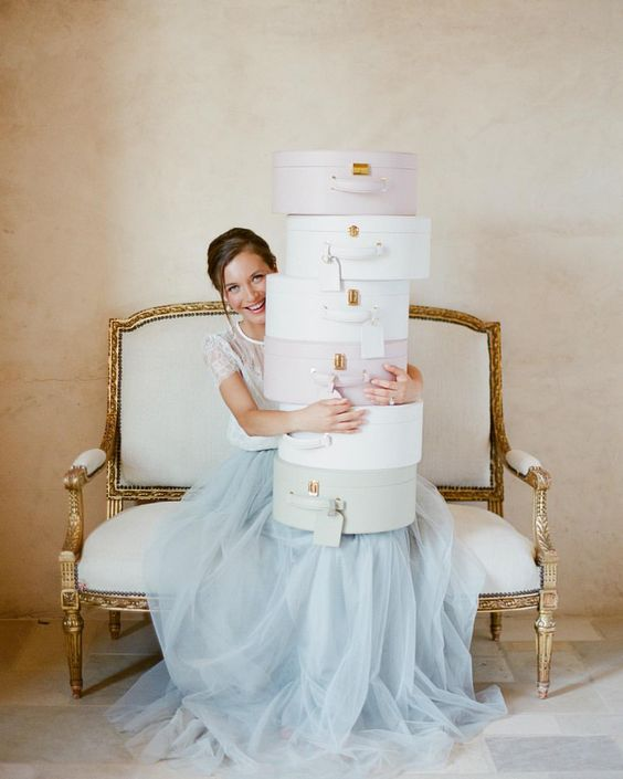 Trousseau and Co Wedding Boxes, Wedding Gifts, Gift Boxes, Designer Gift Boxes, Monogrammed Boxes, See more at loveluxelife.com #loveluxelife: