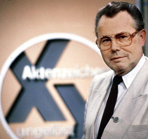 """Memories! Aktenzeichen XY ungeloest!! Eduard """"Ede"""" Zimmermann (* 4. Februar 1929 in München; † 19. September 2009 ebenda)"""
