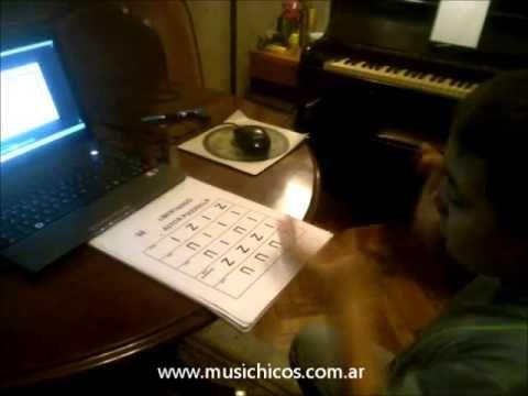 """@musichicos: MUSICOGRAMA """"Libertango"""" (Á. Piazzolla) APLICADO"""