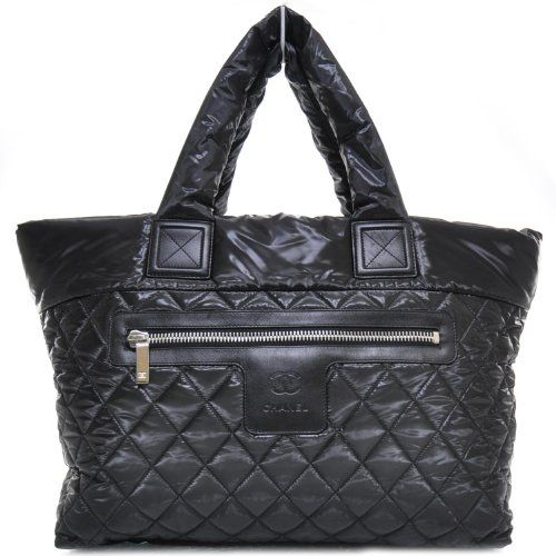 Chanel Large Coco Cocoon Quilted Handbag Tote.new