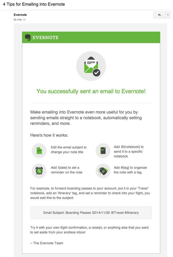 Evernote  Onboarding Email Series  Onboarding