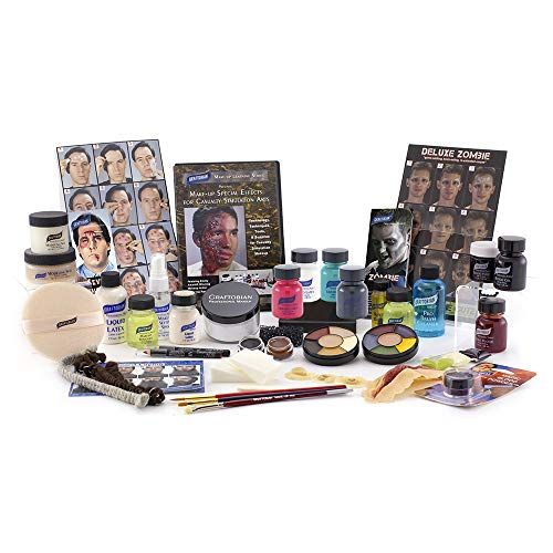 Deluxe Ems Moulage Make Up Kit Makeup Kit Fx Makeup Kit Special Effects Makeup