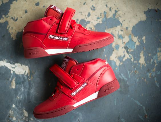 "Reebok Workout Mid Strap XE ""Red"""