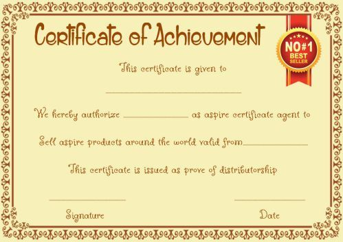 Top Seller Certificate Templates 10 Free Amazing