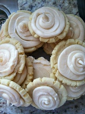 Browned Butter Cookies. These are my fav!