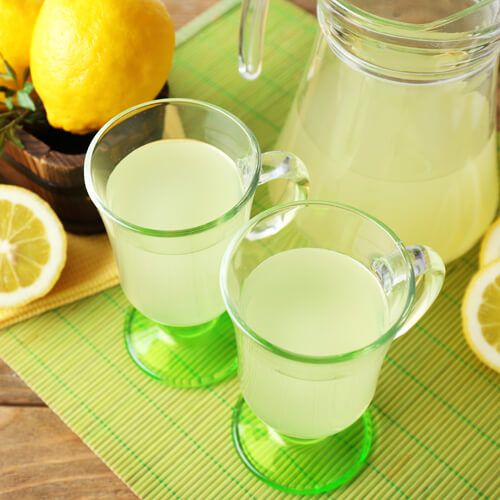Lemon juice has good influence on improving our immune system, it helps us to enhance mood and also with low ph value balance(neutralise) the digestive system.