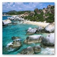 The baths...British virgin gorda. Been there - it's beautiful!