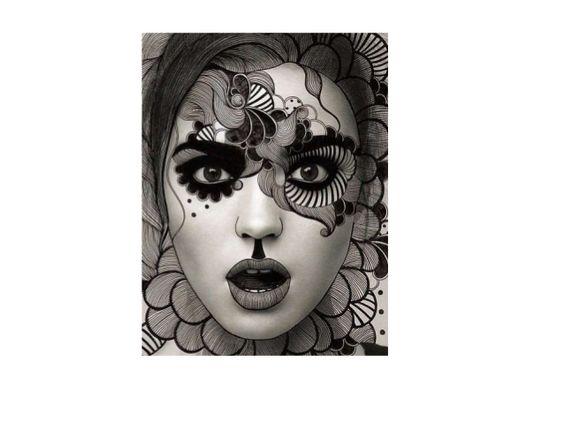 Zentangle Portraits