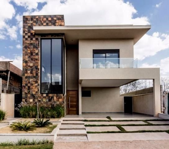 Pin En Fachadas De Casas Modernas