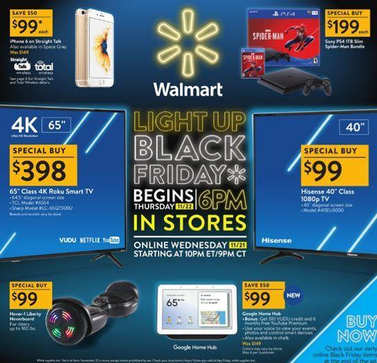 Walmart 2018 Black Friday Ad Walmart Black Friday Ad Black Friday Ads Walmart Black Friday Deals