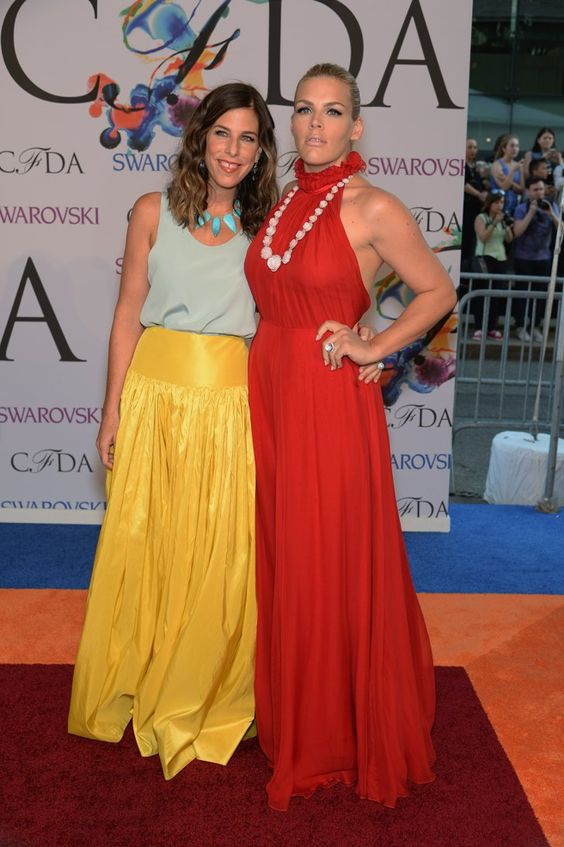 Pin for Later: The Hottest Date Last Night Was a Fashion Designer Busy Philipps and Irene Neuwirth The jewellery designer was Busy's date for the night.