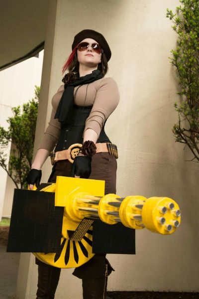 Coco Adel from RWBY Cosplayed by iced-cfvy  Photographed by Fotaku Source:  iced-cfvy via tumblr