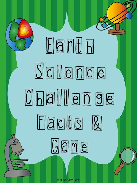 Fancy Free in Fourth: Earth Science Challenge- 5th grade science ...