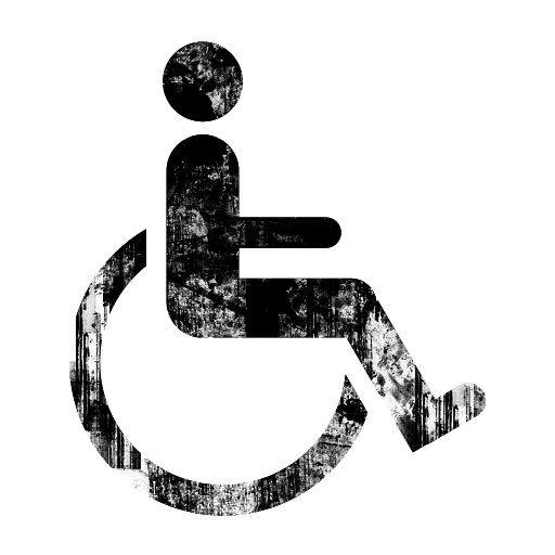 The Universal Sign For Handicap Patrons And Services Http Www Eeoc Gov Laws Types Disability Cfm Image Icon Ink