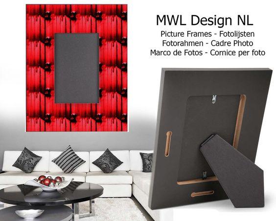 Fotorahmen MWL Design     von MWL Design NL Wohndesign und Accessoires  auf DaWanda.com