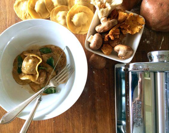Wild mushrooms sage butter and mushrooms on pinterest - Wild mushrooms business ideas ...