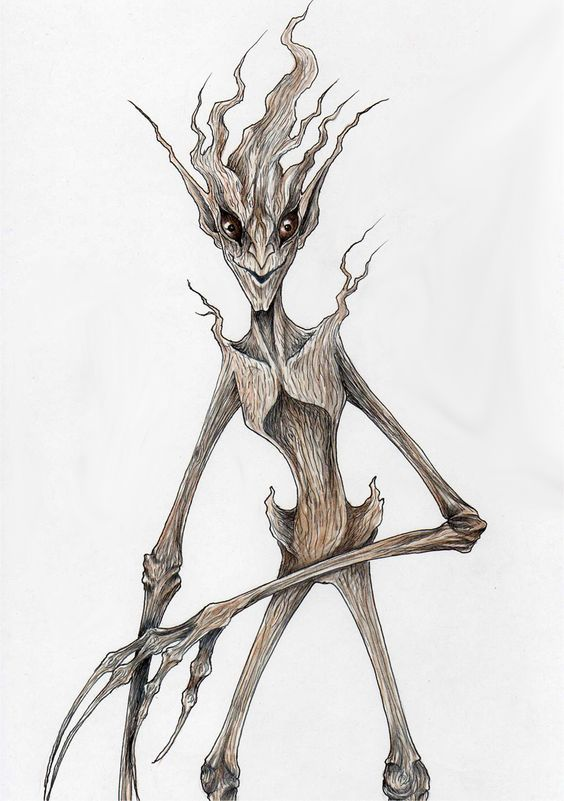 Paige: I find spindly things like Ents underestimated; I like the idea of creating something that looks very vulnerable but can totally kick ass!