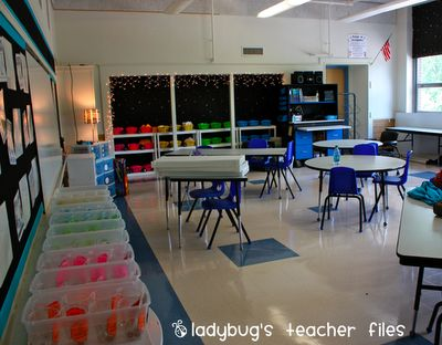 Contact paper paper and desks on pinterest for Tables and desks in the classroom