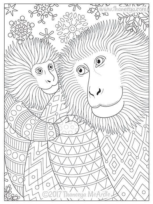 Delightful Animal Families Coloring Book By Thaneeya Mcardle Thaneeya Com Puppy Coloring Pages Family Coloring Pages Dog Coloring Page