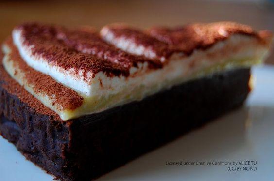 Lemon curd/chocolate cake