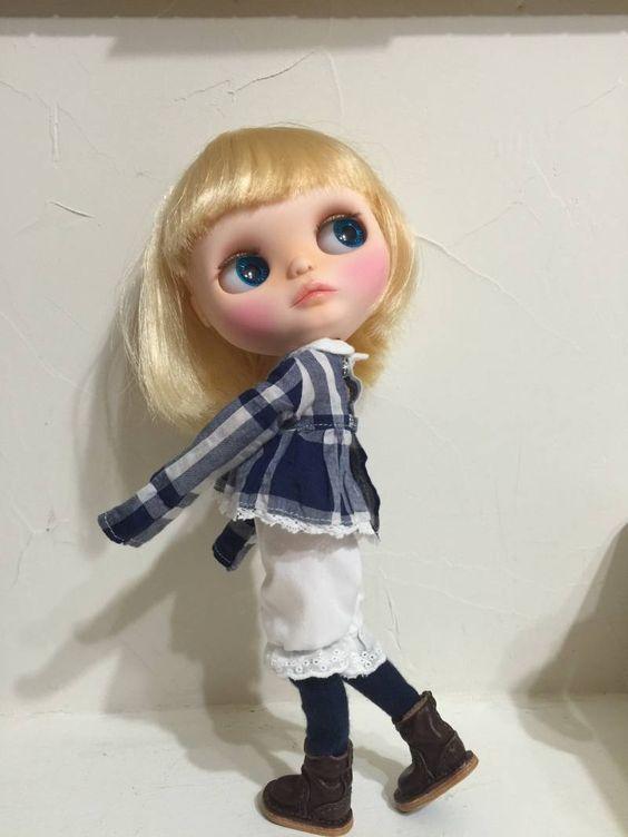 *sayuli* カスタム ブライス Blythe Doll - ヤフオク!