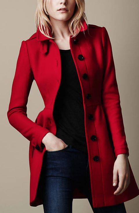 Burberry Whimsical Wool Coat | Style File | Pinterest | Wool