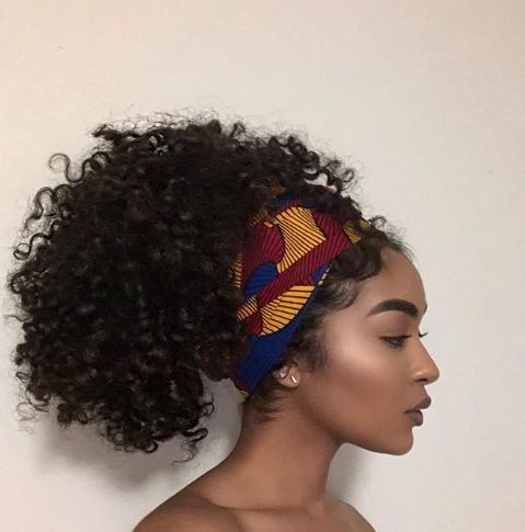 20 Beautiful Head Wrap Styles You Ll Love Natural Hair Styles Hair Wraps Curly Hair Styles Naturally