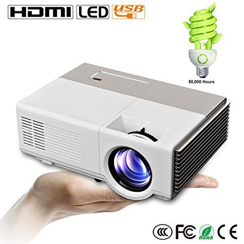 Cinema theater portable projector and projectors on pinterest for Best pocket projector for business