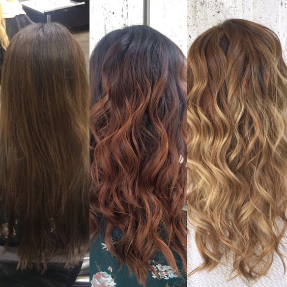 Process Of Slowly Going Blonde From Box Dye To A Caramel