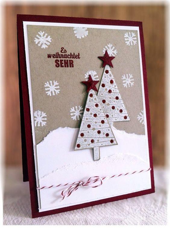 agendas de chatarra navidad hechas tarjetera fina colillas craciun debo intentar tarjetas navidad proyectos tarjetas de navidad divertidas