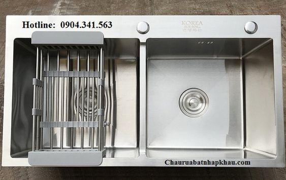 Giá bán mới nhất của chậu rửa bát Korea 7040C