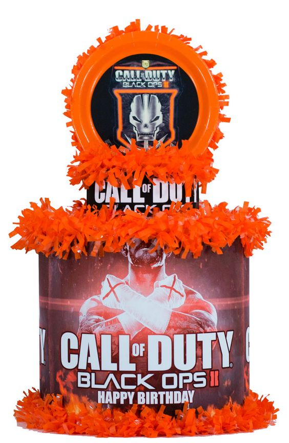 Call of duty black ops 2 personalized pinata world for Black ops 3 decorations
