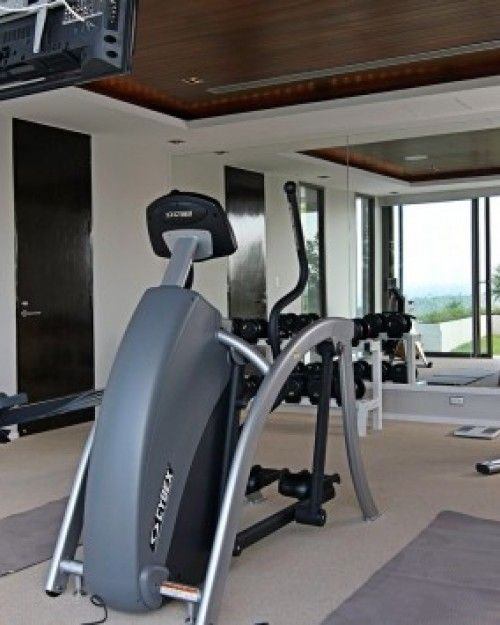 Villa Chan Grajang  ( Phuket, Thailand )  There's a separate fitness room equipped with all the requisite gear. #Jetsetter