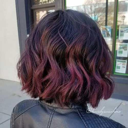 18 Bob Hair Color Thick Hair Styles Bob Hair Color Red Balayage Hair