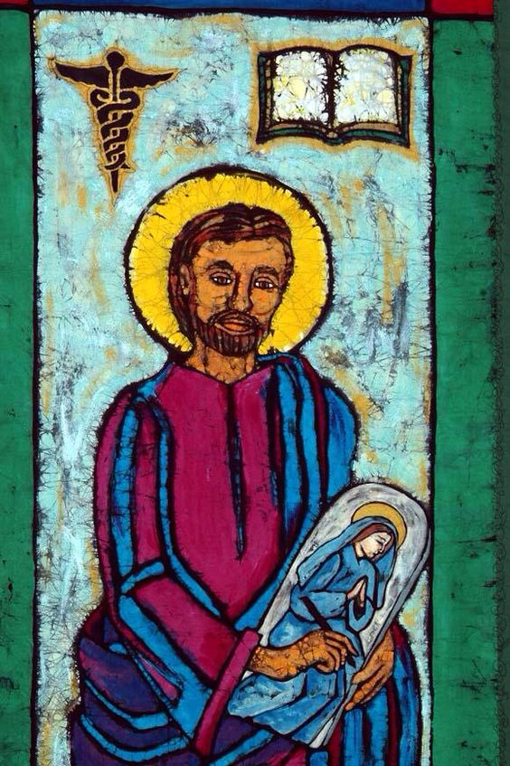 St. Luke, patron of artists and doctors