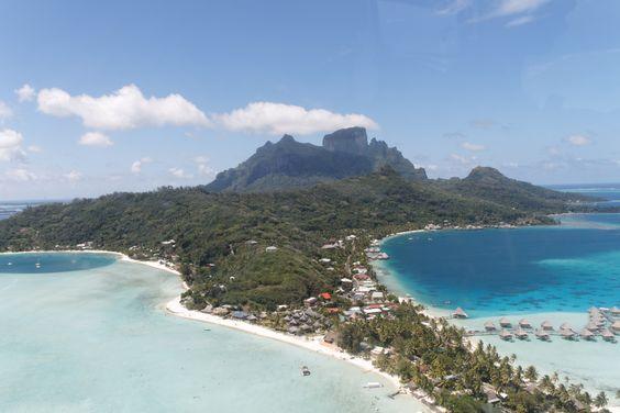 Vistas deslumbrantes sobre - Avaliações de viajantes - Tahiti-Helicopters…