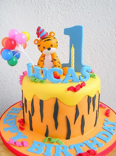 Cake Designs Tiger : Tiger cake, Baby tigers and Tigers on Pinterest