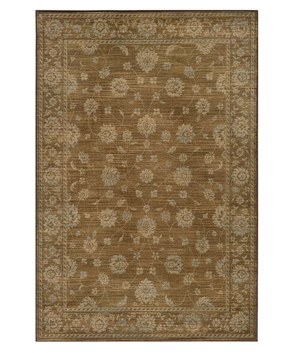 "Momeni Area Rug, Belmont Be-02 Brown 2' 0"" x 3' 0"""