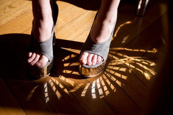 fun mirror shoes