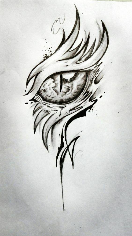 Imagini Pentru Imagini Cu Dragonii In Creion Dragon Eye Drawing Floral Tattoo Design Dragon Drawing