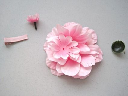 How To Make A Flower Clip