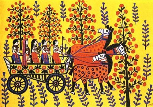 Marija Prymatschenko (auch Pryjmatschenko) wurde am 12. Januar 1909 im Dorf Bolotnja, Kiewer Gebiet geboren. Sie gehört zu den besten Künstlern der Welt, die im Stil des Primitivismus schaffen.