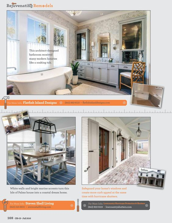 Charleston Home Design Magazine Fall