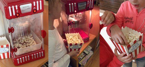 Wir haben gepoppt – Dank Popcornmaschine