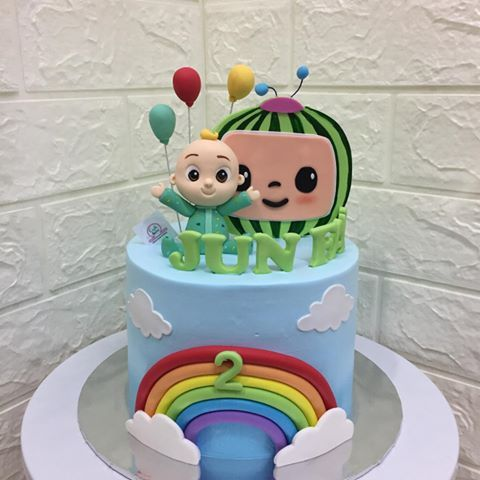 Coco Melon Cocomelon Cocomeloncake Cakedecorating Cakekl Bakermalaysia Klb 1st Birthday Party Themes Carnival Birthday Parties 2nd Birthday Party Themes