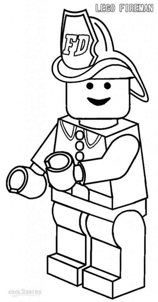 Lego Fireman Coloring Pages Lego Coloring Pages Lego Coloring