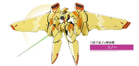 弓波千流子の解放機「コノハ」