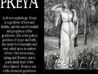 norse | Freya & Odin on Pinterest | Fertility, Goddesses and War